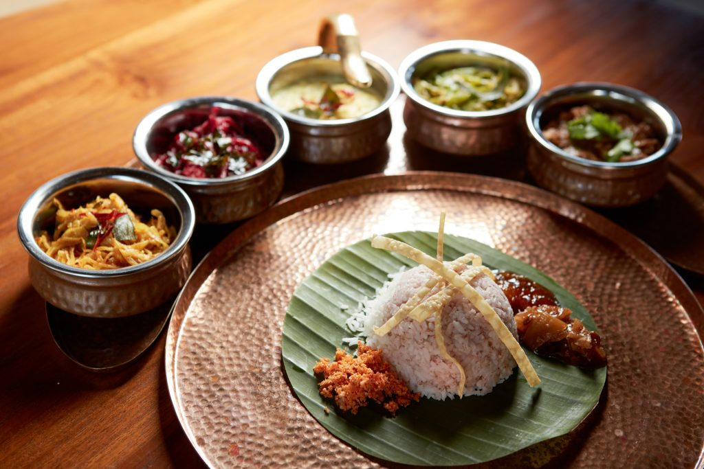 Sumptuous Sri Lankan cuisine at Wild Coast Tented Lodge