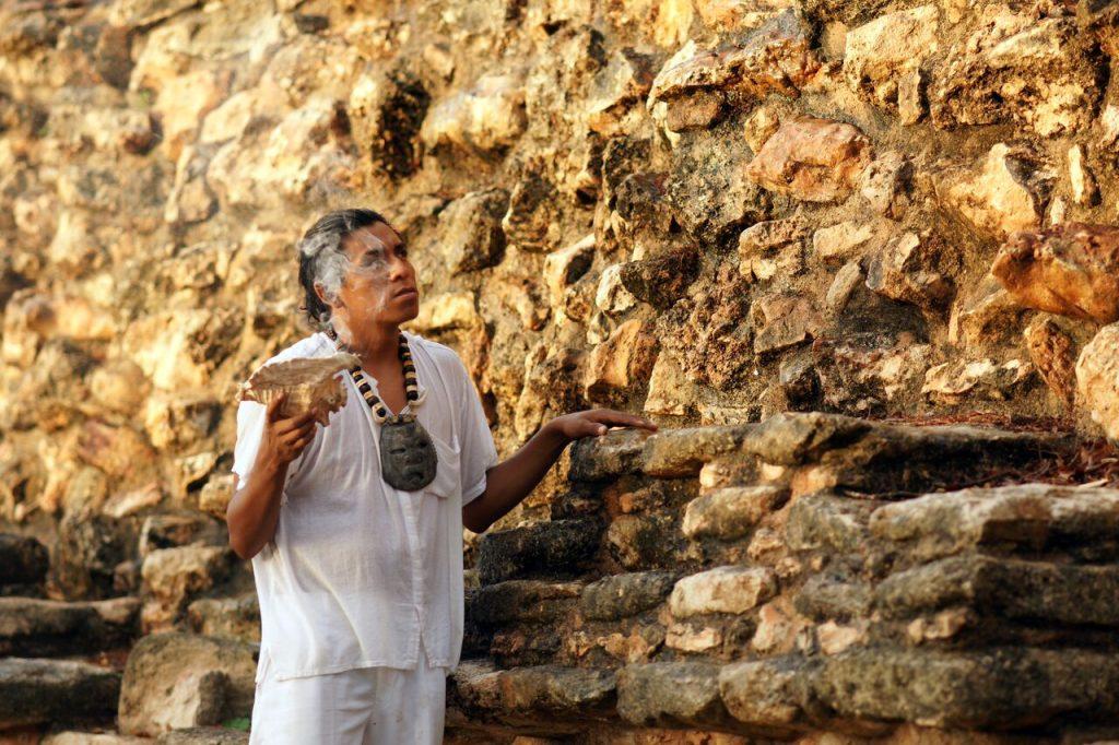Maya wellness ceremony, Catherwood Travels
