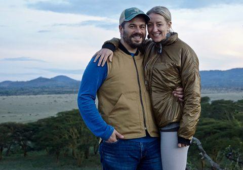 Rebecca & Charlie on Safari in Africa