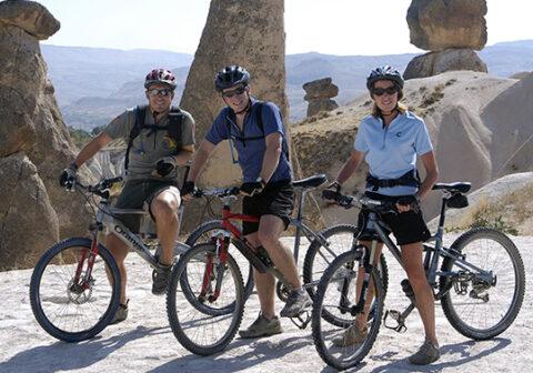 Family Biking in Turkey